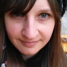 Marie felhasználói profilja