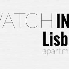 Watching Lisbon Apartments, Lda is the host.