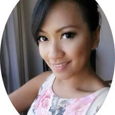 Agustina felhasználói profilja