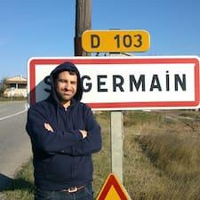 Henkilön Germain käyttäjäprofiili