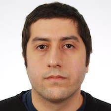 Ashkan felhasználói profilja