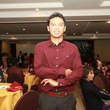 Gusti Ngurah is the host.