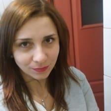 Henkilön Magdalena käyttäjäprofiili