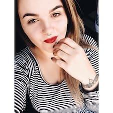 Jessika felhasználói profilja