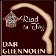 Dar Guennoun is the host.