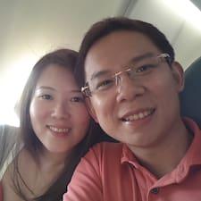 Perfil do utilizador de Lirong & Yuzhong