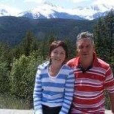 John & Sandra felhasználói profilja