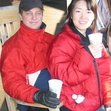 Dennis & Naoko is the host.