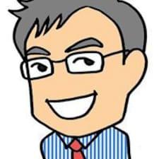 Katsuyoshi is the host.