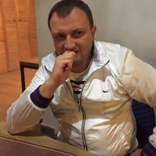 Роман is the host.