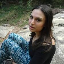 Sharona felhasználói profilja