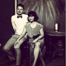 Profil Pengguna Jacqueline & Oscar