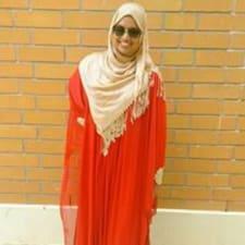 Profil utilisateur de Hajra