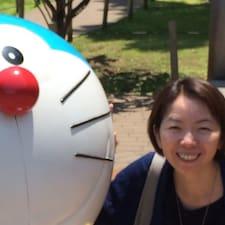 Yukiko felhasználói profilja