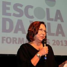 Sônia is the host.