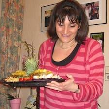 Christine felhasználói profilja