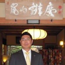 Teruhiko is the host.