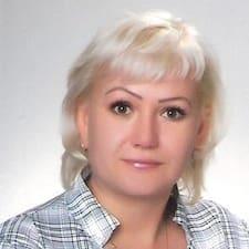 Людмила ist der Gastgeber.