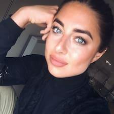 Saida felhasználói profilja