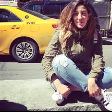 Perfil de usuario de Camila