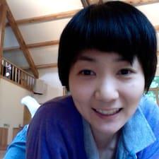 Mina is the host.