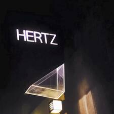 Hertz is the host.