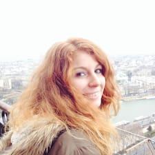 Gaetane felhasználói profilja