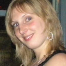 Céline felhasználói profilja
