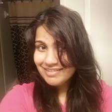 Aditi felhasználói profilja