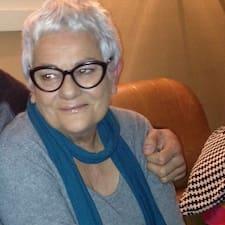 Françoise ist der Gastgeber.