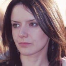 Andelka felhasználói profilja