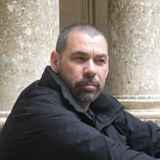 Användarprofil för Claudio Adrián