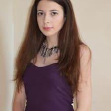 Elisa felhasználói profilja