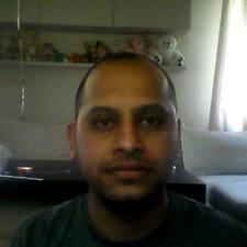 Användarprofil för Vijay