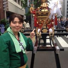 Chizuru felhasználói profilja