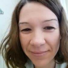 Anja felhasználói profilja