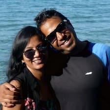 Profil utilisateur de Shruthi & Tushar