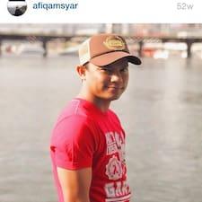 Profilo utente di Mohd Afiq Amsyar