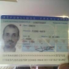 Pierre-Marie felhasználói profilja