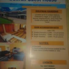 DOLFRAN Guest House je domaćin.