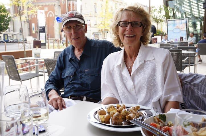 Denise & Barry