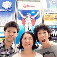 Takashi, Kimi, Masa je domaćin.