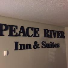 Peace River ist der Gastgeber.