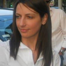 Francesca ist der Gastgeber.