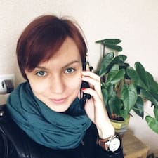 Henkilön Elena käyttäjäprofiili