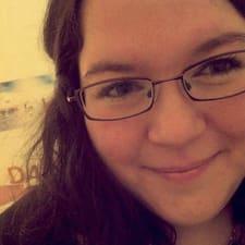Gianna felhasználói profilja