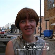 Профиль пользователя Alice
