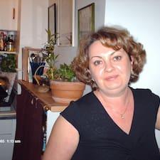 Sandrine es el anfitrión.