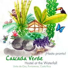 Cascada Verde is the host.