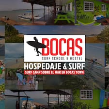 Bocas Surf School And Hostel is the host.